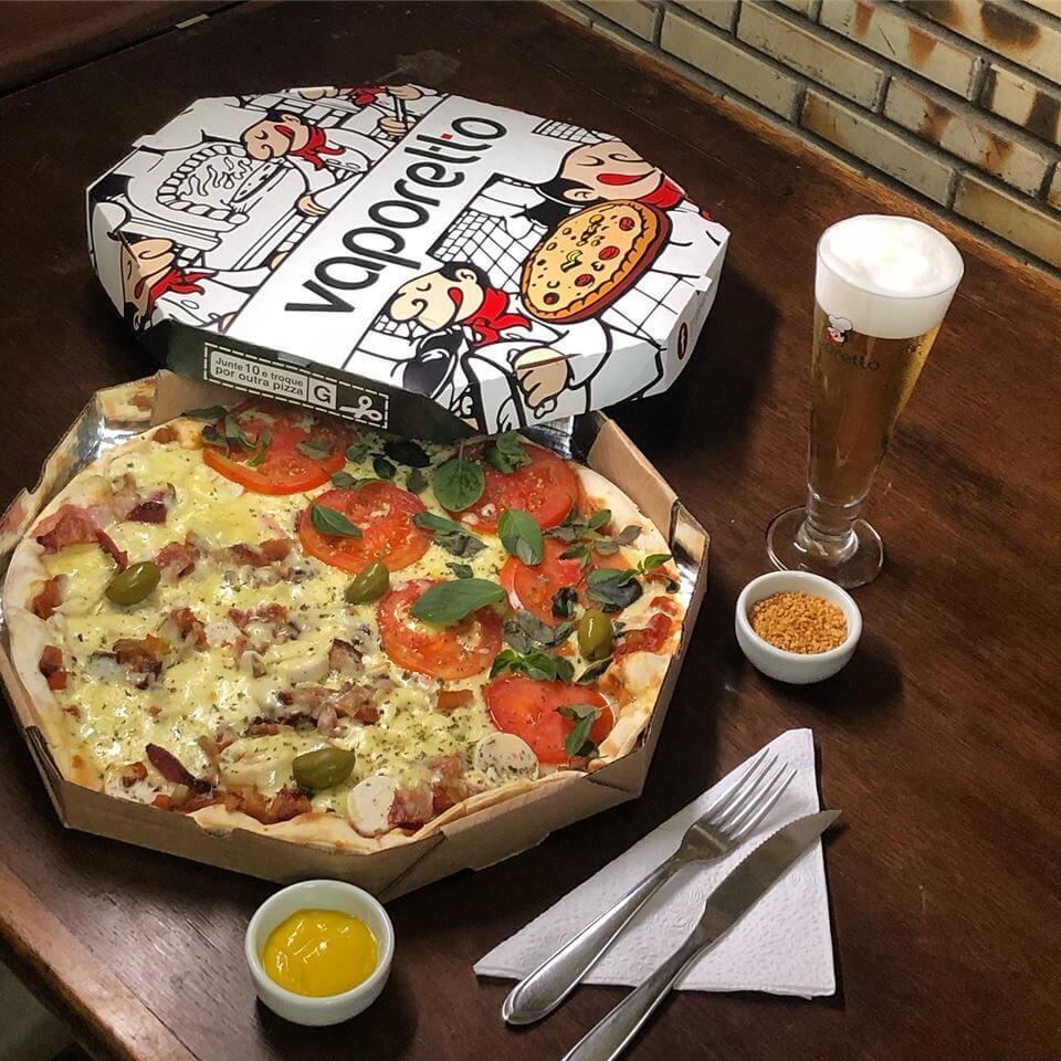 Pizzarias de Juiz de Fora - Vaporetto