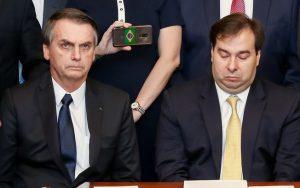 Articulação política - Bolsonaro e Rodrigo Maia passam por crise no governo