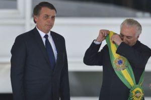 Articulação política - Bolsonaro e Michel Temer