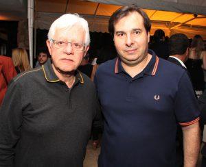 Articulação política - Moreira Franco e Rodrigo Maia