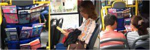 Transporte público: Diversas ações são feitas dentro dos coletivos