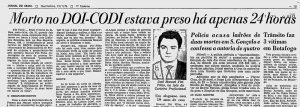 Ditadura Militar - órgãos de repressão torturavam e matavam pessoas