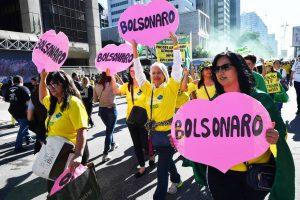 Semelhanças entre manifestações contra e pró-Bolsonaro